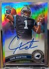 Cam Newton Rookie Cards Checklist and Autographed Memorabilia Guide 20