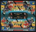 IN STOCK 2020 Panini NFL Five Football Factory Sealed Booster Box 24 Packs