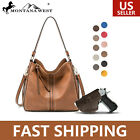 Portable Large Concealed Carry Purse For Women Leather Handbag With Gun Holster