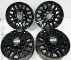 4 Takeoff Ford F250 F350 Super Duty 8 Lug Factory OEM Black 20 Wheels Rims 10104
