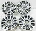 4 2020 Ford F250 F350 Super Duty 8 lug Factory OEM 18 Wheels Rims 05 21 10289