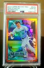2010 Topps Mike Giancarlo Stanton Rookie Card Refractor Red Hot Redemption PSA10