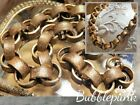 Antique Victorian Stamped Ring Chunky Link Necklace Estate Jewelry Buy out