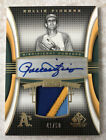 2004 SP Game Used Patch ROLLIE FINGERS Autograph 3 Color Patch 41 50 HOF