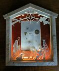 Pier 1 Light Up 4x6 Nativity Photo Picture Frame Christmas Lasercut Baby Jesus