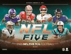 IN STOCK 2020 Panini NFL Five Football Factory Sealed Booster Box +Extra Deck