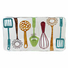Tabletop COOKING UTENSILS PLATTER Glass Fusion Glass Spatula 20130230