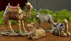 Three Kings 7 Animal Collection 2 Camels Donkey Ox For Real Life Nativity Set