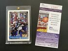 1992-93 TOPPS SHAQUILLE O'NEAL SIGNED SHAQ ROOKIE CARD RC AUTOGRAPH JSA COA AUTO