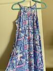 NWT Lilly Pulitzer Margot Dress Whisper Blue Yeah Buoy Size XS