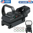 Green Red Dot Reflex Sight Tactical Gun Rifle Holographic Scope with Rail Mount