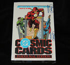 DC Cosmic Cards Inaugural Edition Box SEALED 1991 Impel Trading Cards 36 Packs