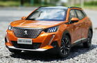 1 18 Scale Peugeot 2008 SUV 2020 Orange Diecast Car Model Toy Collection Toy NEW