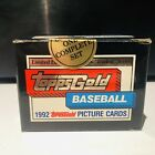 1992 Topps GOLD Traded Series Baseball SEALED 132 Card Set - Garciaparra Rookie