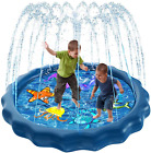 Luxital Splash Sprinkle Pad for Kids Fountain Outdoor Inflatable Water Toys