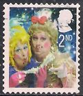 GB 2008 QE2 2nd Class Christmas Ugly Sisters SG 2876 used  A465