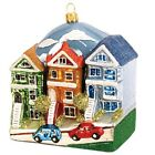 Painted Ladies Buildings Polish Glass Christmas Ornament Travel San Francisco