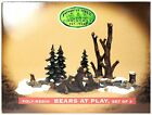 Lemax Enchanted Forest Bears at Play Christmas Holiday Village Accessory MIB