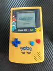 GameBoy Color Pokemon Pikachu Edition Nintendo System Yellow  Blue Game Boy GBC