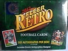 2012 Upper Deck Fleer Retro Football MASTER Hobby box (6 aUTOGRAPHS)