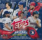 2018 Topps Holiday Baseball Mega Box Factory Sealed Unopened (Qty)