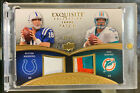 2009 Upper Deck Exquisite Collection Peyton Manning Dan Marino Combo Patch 20