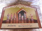 Jim Shore Mini Nativity Set Bethlehems Miracle Heartwood Creek 2010 Christmas