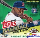 2016 Topps Chrome Update Baseball EXCLUSIVE Factory Sealed MEGA Box-Loaded!