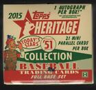 IN STOCK 2015 Topps Heritage '51 Collection Baseball Hobby Box 126 Cards 1 AUTO!