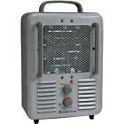 Comfort Zone CZ798 Compact Portable Electric Utility Space Heater Personal Fan