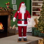 Christmas Santa Claus Sound Animated Singing Dancing Holiday Yard Indoor Decor
