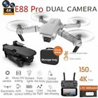Drone W 4K One Dual Camera Wifi FPV Drone RC Quadcopter Follow Me Altitude Hold