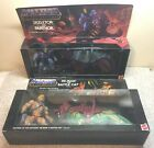 2000 MATTEL MOTU HE MAN  BATTLE CAT SKELETOR  PANTHOR MIB IN SEALED BOXES NRFP