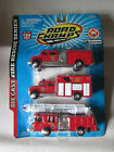 1998 Road Champs Fire Rescue Series 3 Pack New Orleans Fire Engine Trucks