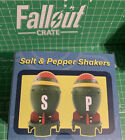 Fallout Mini Nuke Salt and Pepper Shakers Set Loot Crate Exclusive