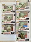 Funko Pop! Star Wars-The Child Lot of 7- Walmart Target Gamestop NYCC Exclusives
