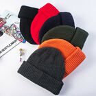 Unisex Knitted Beanie Hat Winter Warm Thicken Hat Ski Cap for Men Women 2020