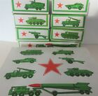 Russian Military Army Diecast Seven Vehicles Model Gift Set with Rocket Launcher