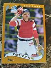 Carlton Fisk Cards, Rookie Card and Autographed Memorabilia Guide 10