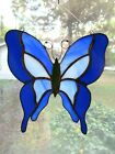 Handmade Stained Glass BUTTERFLY SUNCATCHER BF89