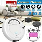 Rumba 1800Pa Smart Robot Vacuum Cleaner 3 IN1 Floor Edge Auto Suction Sweeper US