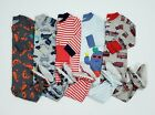 Boys 12 month Light Weight Carters Footed Sleepers Zip Up Pajamas Pjs Lot of 5