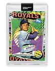 Topps PROJECT 2020 Card 55 - 1975 George Brett by Tyson Beck - Print Run: 1992