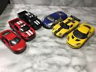 Lot Of 6 DIECAST CARS 1 32 SC 4 Super Cars And 2 Replicas All Pull Cars