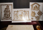 Anna Griffin Complete Set of Large Nativity Dies Set Of 10 Three Scenes New