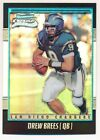 Drew Brees Rookie Cards Checklist and Autographed Memorabilia Guide 42