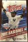 2011 TOPPS SERIES ONE DIAMOND ANNIVERSARY BASEBALL Sealed Hobby Box w 36 Packs