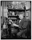 Reproduced 1939 Photo Collecting Old Bottles Is Hobby Retired Professor Washi x