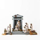 Willow Tree Nativity Deluxe Starter Plus The Three Wise Men and Camel 14 Piece