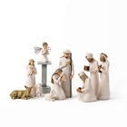 Willow Tree Nativity Starter Figures with The Three Wisemen Plus Angel 11 Piece